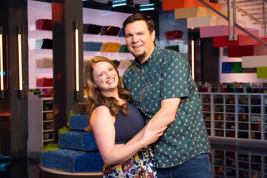 LEGO® Masters Contestants: Maria and Phillip
