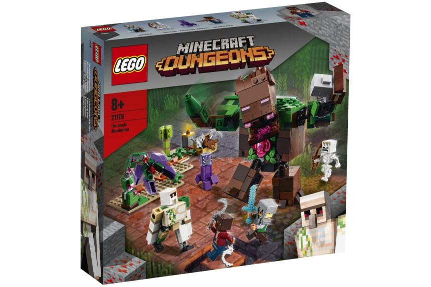 Summer 2021 Minecraft Jungle Abomination