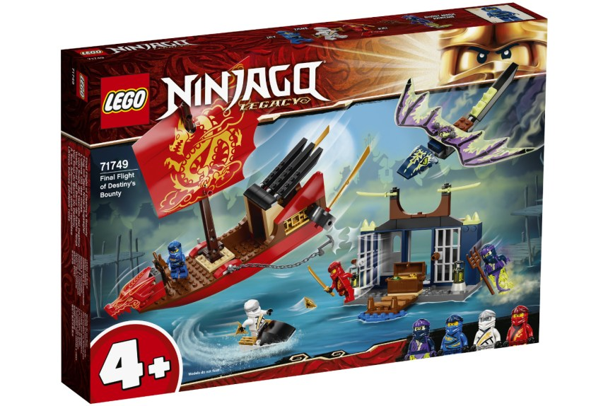 Summer 2021 Ninjago Final Flight of Destiny's Bounty