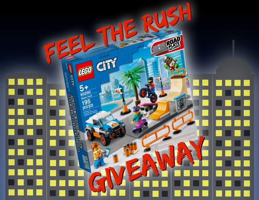 Feel the Rush Giveaway from True North Bricks.