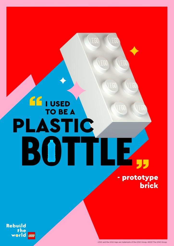 Prototype Brick from recycled plastic