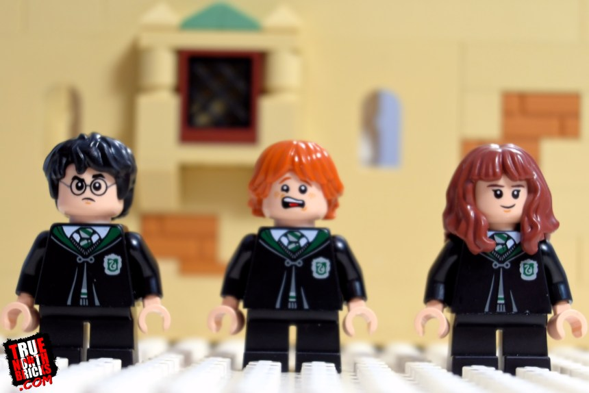 Harry, Ron, and Hermione from Polyjuice Potion Mistake.