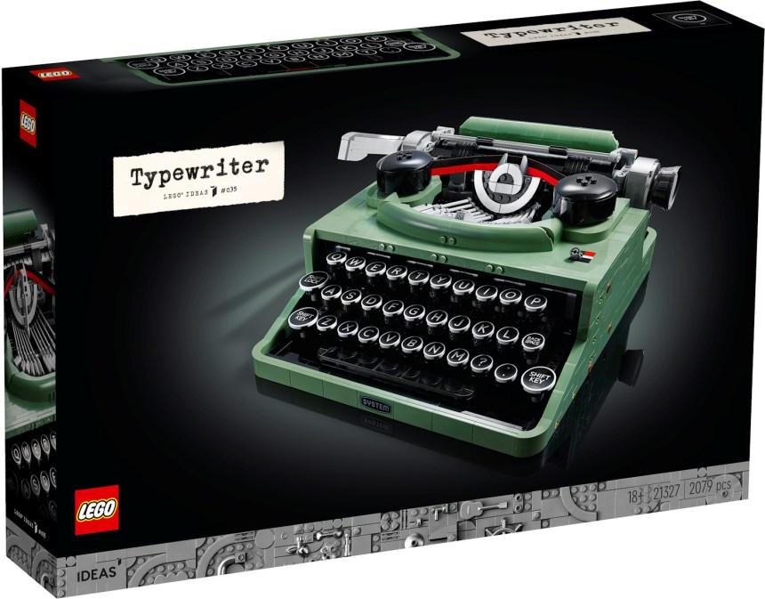 LEGO® Ideas Typewriter Coming Soon
