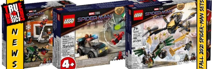 Fall 2021 Spider-Man Sets
