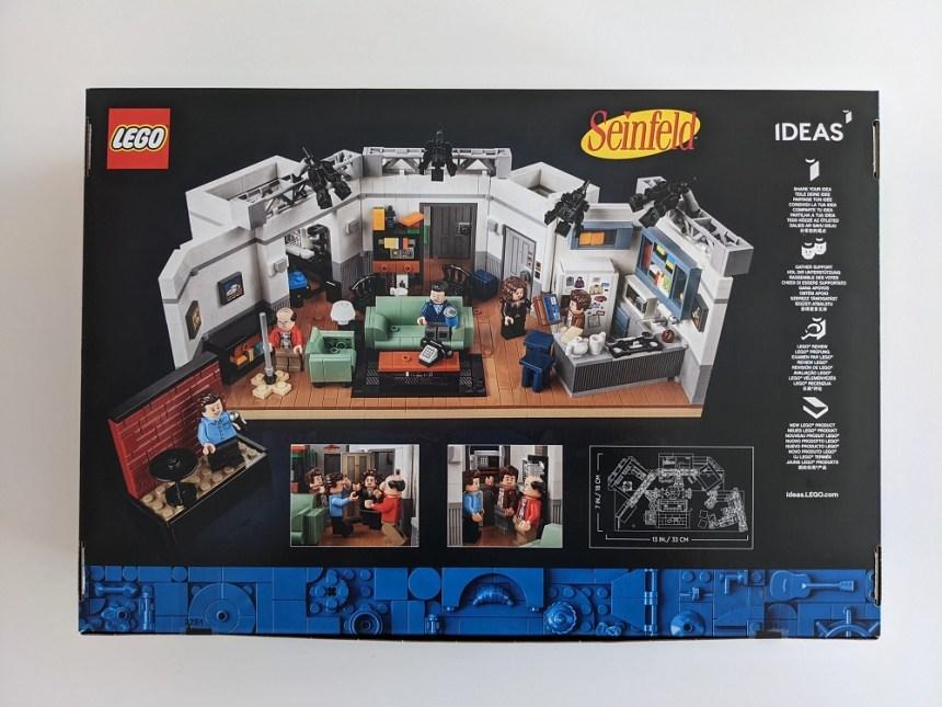 LEGO® Idea Seinfeld (21328) box art