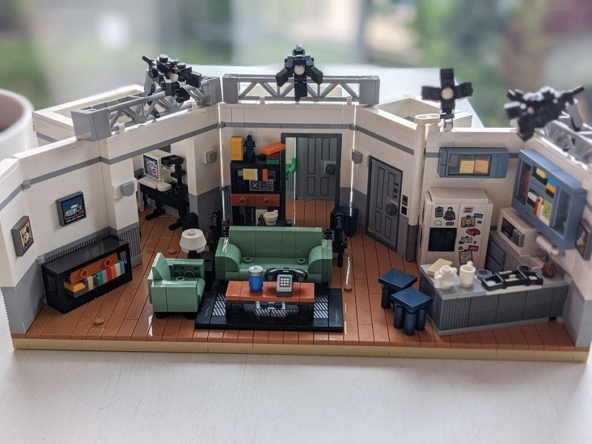 LEGO® Ideas Seinfeld (21328) completed build.