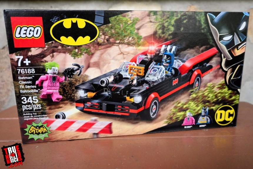 Classic Tv Series Batmobile front box art.