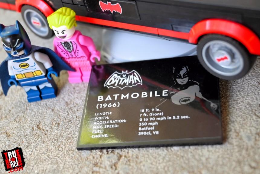 Classic TV Series Batmobile display base.
