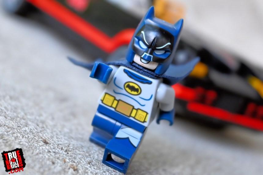Batman from the Classic TV Series Batmobile.