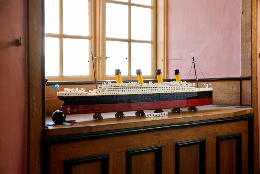 Titanic coming soon from the LEGO Group.