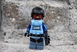 LEGO Jurassic World ACU Alternate Face