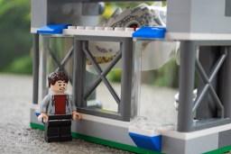 LEGO Indominus rex Breakout observation area