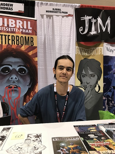 djibril fan expo 2017