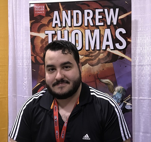 Andrew Thomas Toronto Comicon 2018
