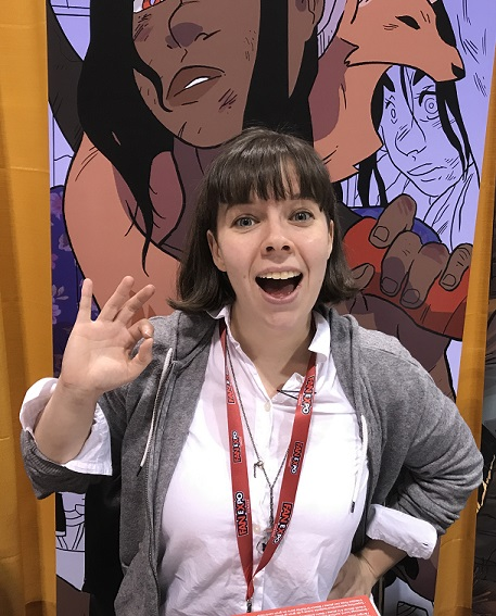 Meaghan Carter at Toronto Comicon 2018
