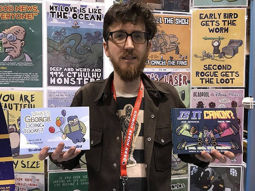 Peter C at Toronto Comicon 2018