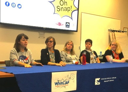 Women In Comics Panel from WhitCAF 2018 – True North Country