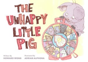 the unhappy little pig