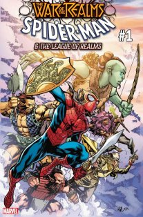 War of the Realms Spider man and the leagu of realms 1