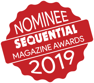 Nominee for Sequential Magazine Favourite Podcast Award 2019