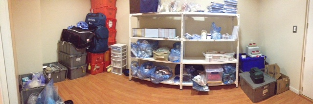 The Supply Room.