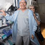Volunteer Tibor Kovacs and Ward Nurse Kelly Kovacs