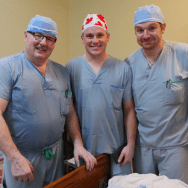 Dr. Guy Lavoie, Dr. Ian Lutz and Dr. John Esposito