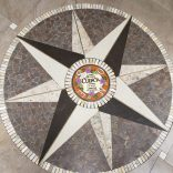 Scenes in Cuenca....old town plaza inlaid brick work