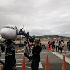 Arriving in Cuenca