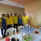 Club Rotario de Yanuncay members are present throughout each and every day with smiles, hugs, snacks and refreshments.