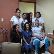 Santa Ines nurses on floor 3. Floor 3 was the location for TNMS patients.