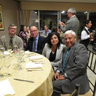 Dr. Manuel and his wife Nellie, along with Dr. Walley Temple and Dr. David Fermor.