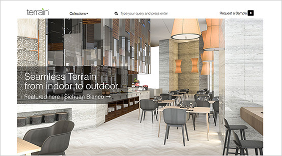 Website Design Agency - Terrain Materials