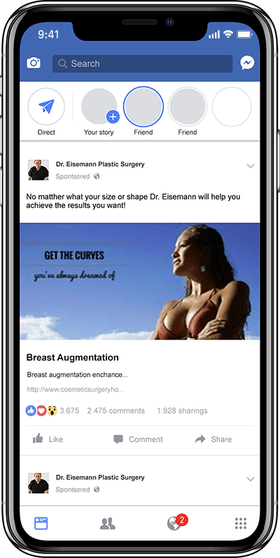 Social Media Ads for Plastic Surgeons