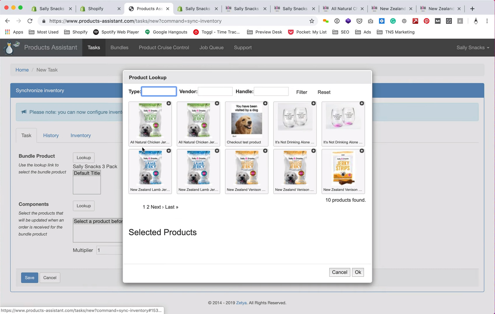 How to create a product bundle