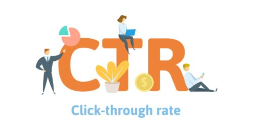 CTR - click through rate
