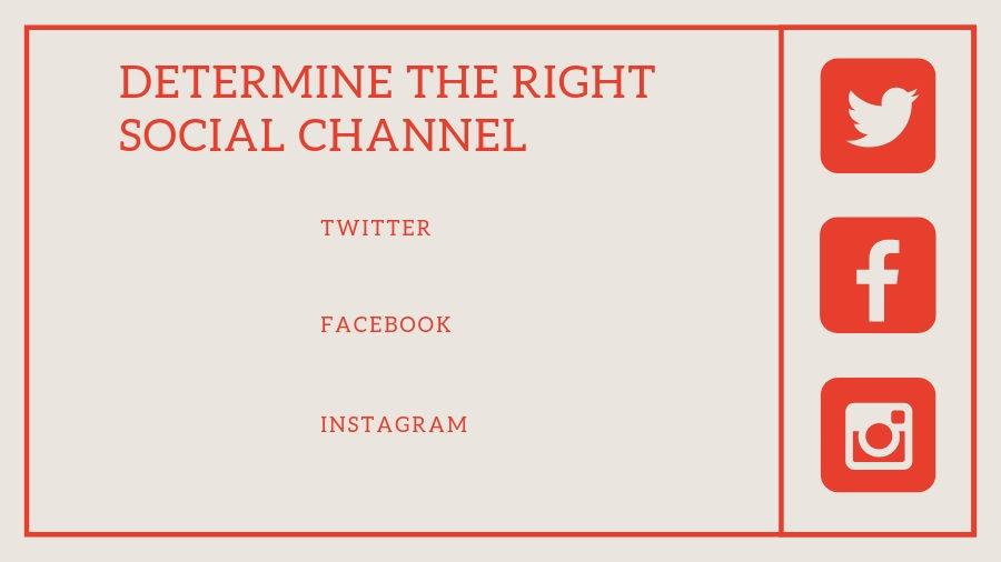Choosing a social platform for influencers