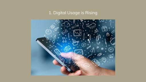 1. Digital Usage is Rising