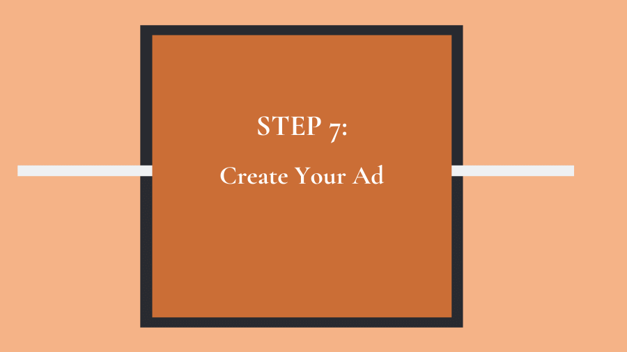 Step 7: Create your Facebook ad