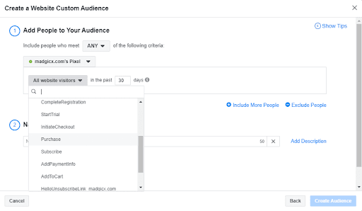Add People To Your Audience
