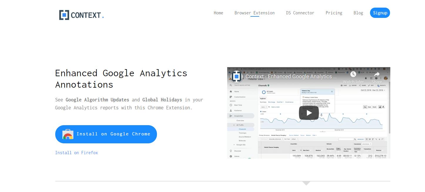 Enhanced Google Analytics Annotations
