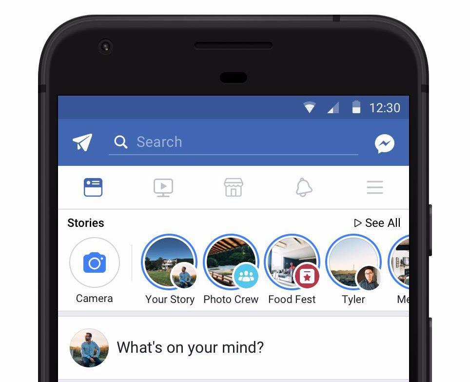 Stories on Facebook