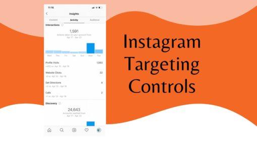 Instagram Targeting Controls