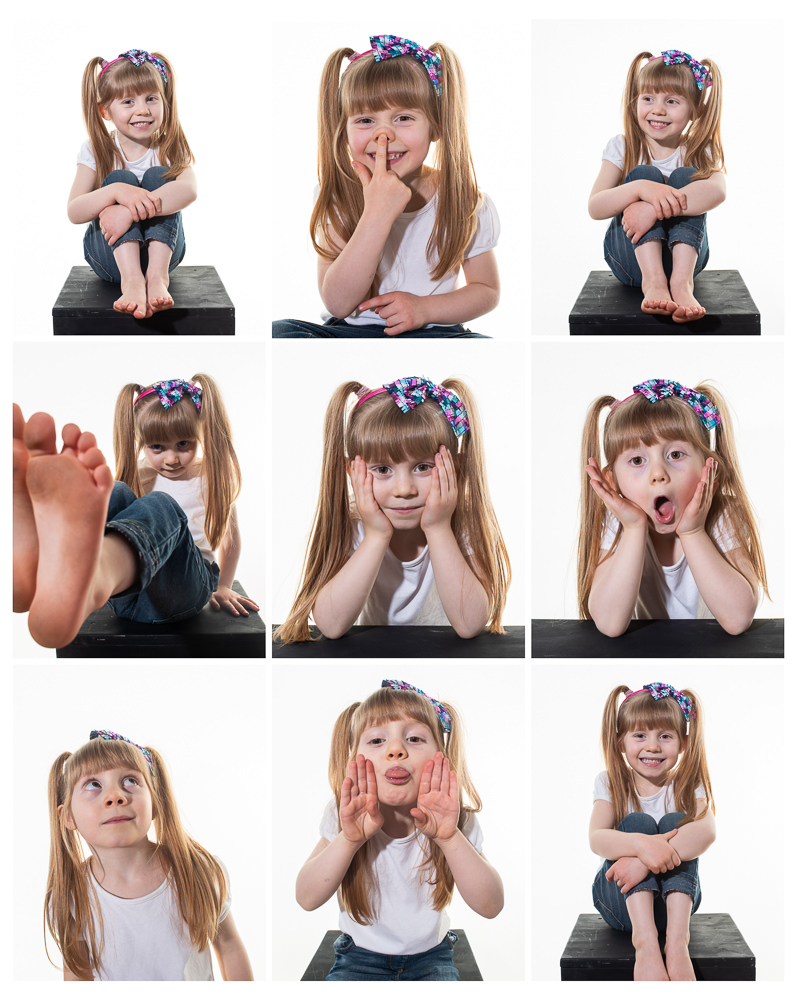 Portrait Photographer 9 up print