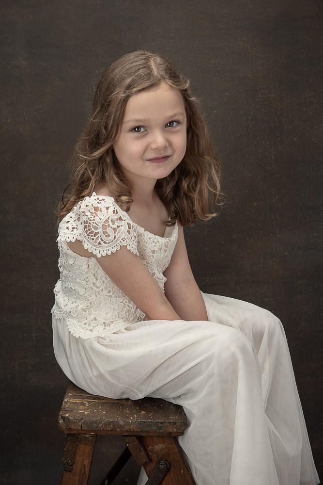 portraits of kids for christmas