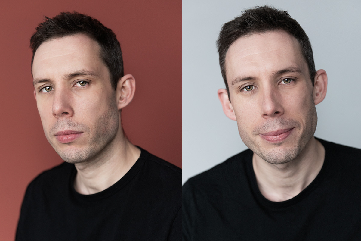 Richard the actor's spotlight headshot