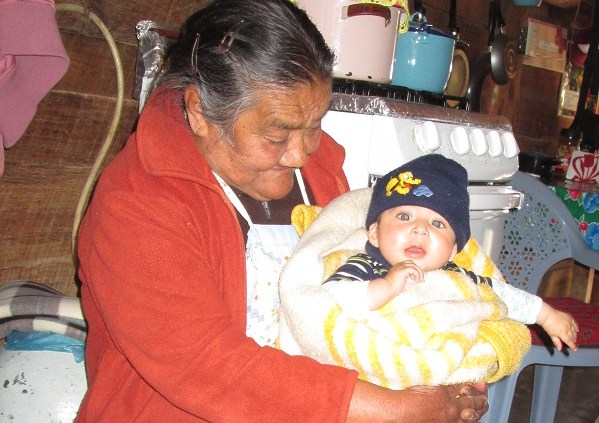 Granny with Baby