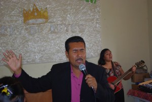 Pastor Reynaldo and his wife.