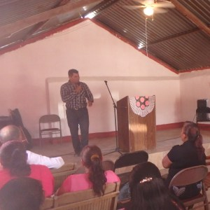 Pastor Jose delivered a powerful sermon.