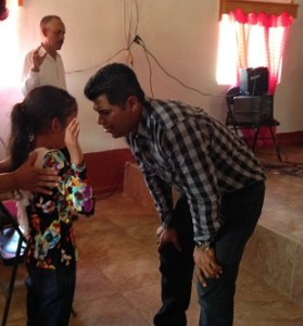 Jose payed for this little girl who came forward